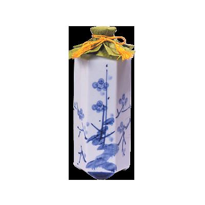 本格麦焼酎 「筑紫」六角壺